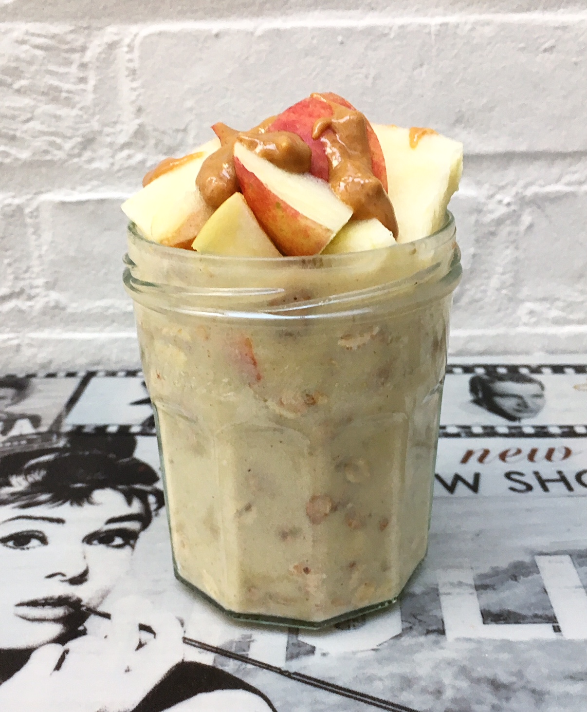 apple pie overnight oats 2