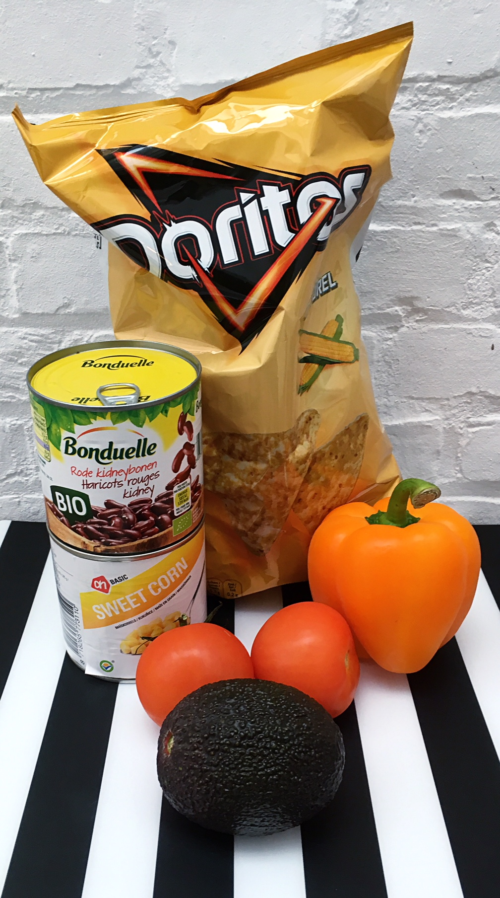 ingredients nachos