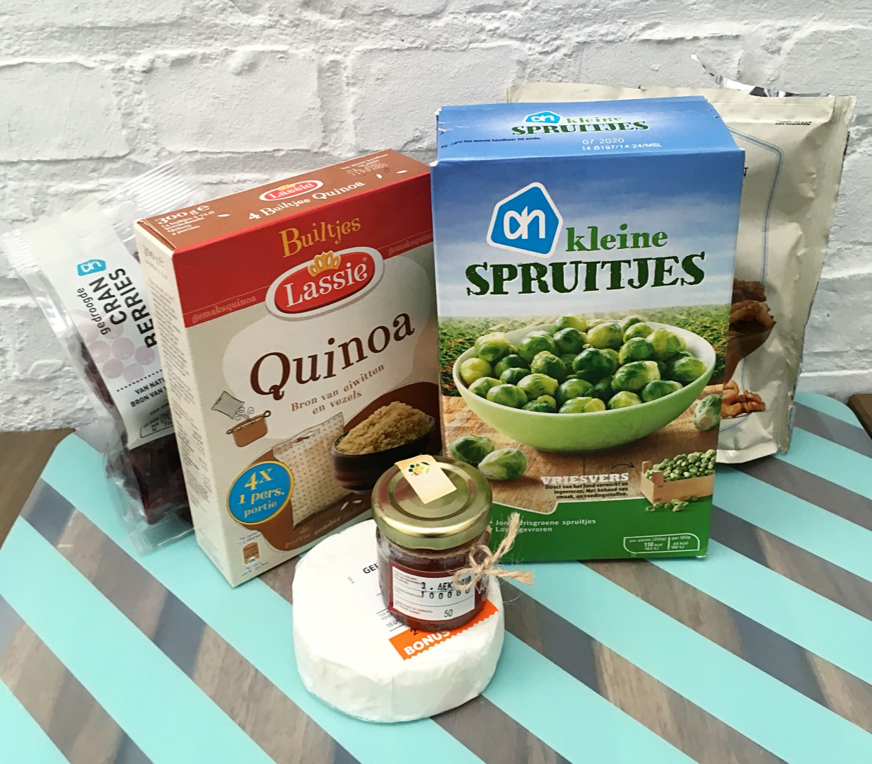 quinoa ingredients Large