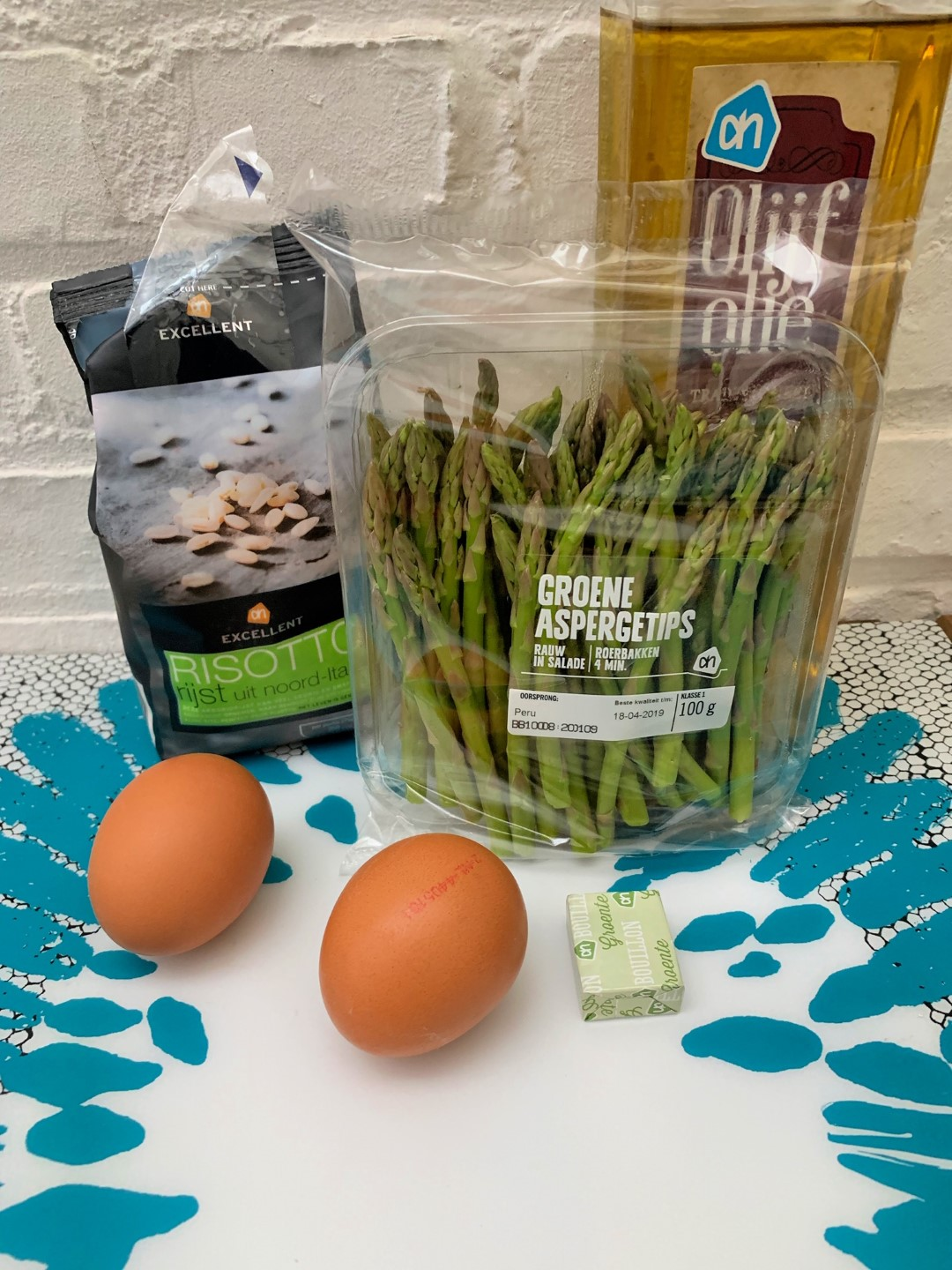 risotto asperges ingredienten